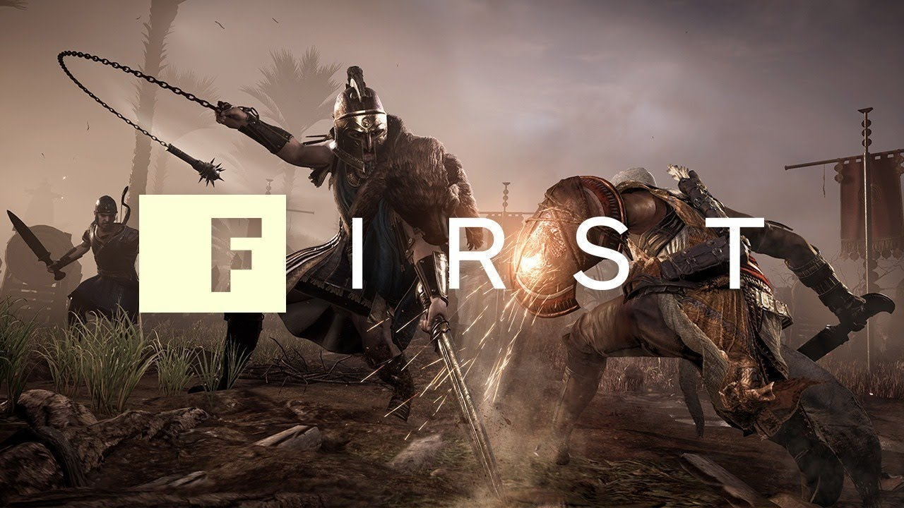 Assassins Creed Origins 10 Minutes Of High Level Gameplay Ign First