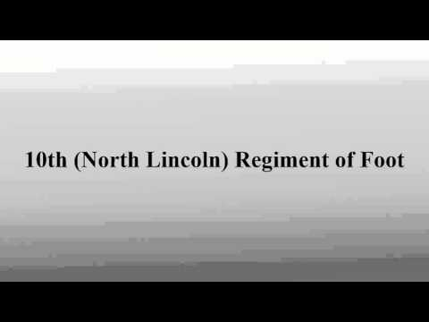 10th (North Lincoln) Regiment of Foot