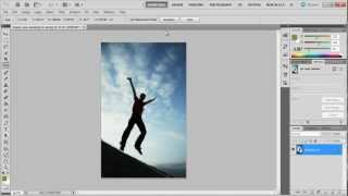 How to straighten an image in Photoshop