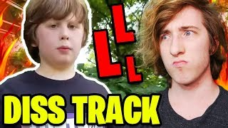 this kid gave me an L... KREEKCRAFT DISS TRACK *REACTION* (Roblox)