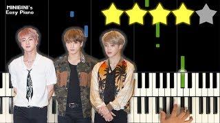 Baixar BTS (방탄소년단) - Dream Glow (BTS World OST Pt.1) Feat. Charli XCX 《MINIBINI EASY PIANO ♪》 ★★★★☆