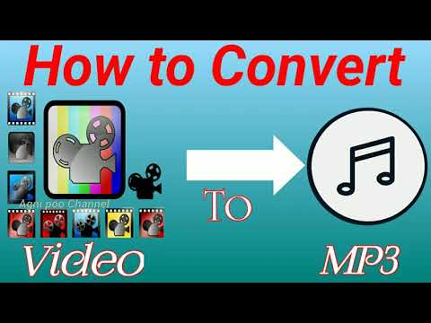How to convert video to audio| mp3 converter |convert video to mp3|extract audio from video in tamil