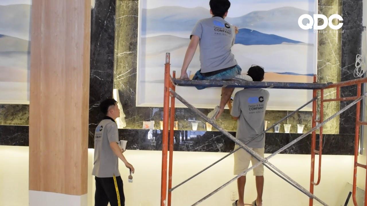Vẽ tranh tường – Nhà hàng Sik Dak Fook