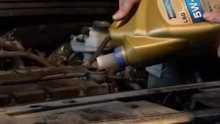 Замена моторного масла и фильтра Шевроле Круз 1,6