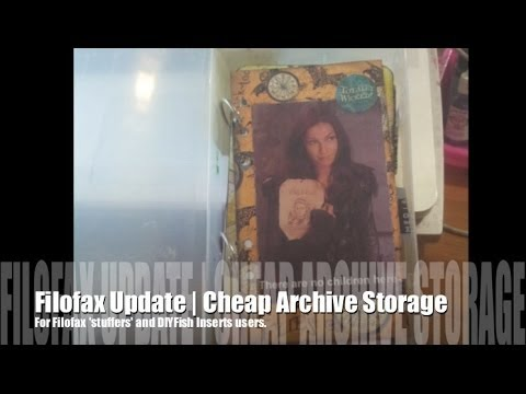 Creative Quickie | Cheap Archive Solution; VHS Boxes