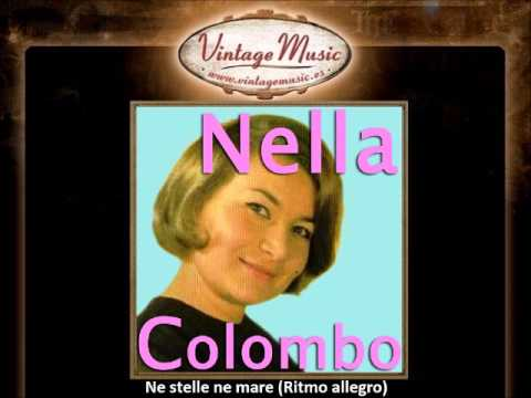 NELLA COLOMBO CD Vintage Italian Song. Ne Stelle Ne Mare , Por Dos Besos , Tuya