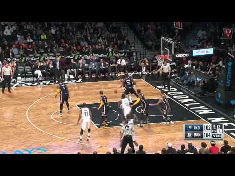 Indiana Pacers vs Brooklyn Nets | March 26, 2016 | NBA 2015-16 Season