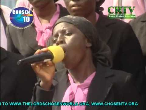The Lord's Chosen Charismatic Revival Ministries Youth Choir songs ministration