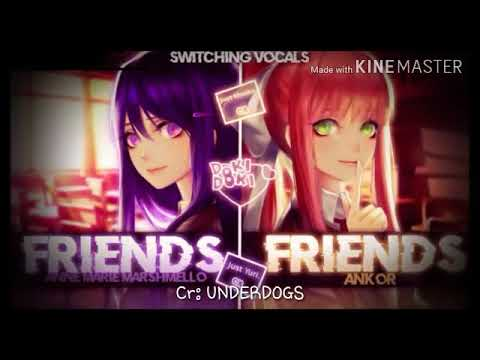 FRIENDS - Nightcore [switching vocals | Ankor cover]