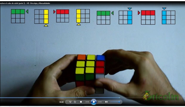 cmo resolver el cubo de rubik de manera sencilla parte hd bricolaje y youtube
