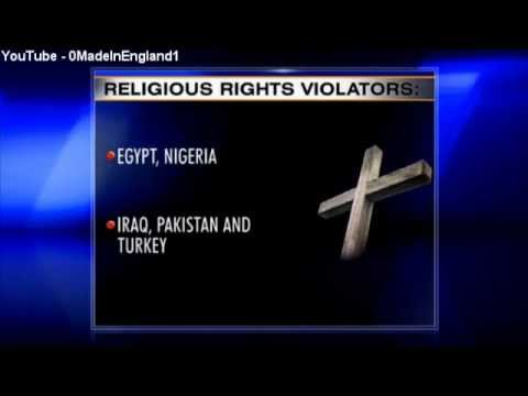 Islamic nations Named in Religious Rights Abuse Report