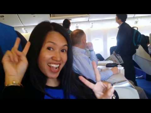 Malaysia Airlines B777  Business Class from HongKong to KL