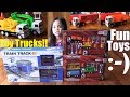 Awesome Toy Trucks Playtime and Toy Train Set Unboxing. Police Toy Cars and Trucks. Toy Channel