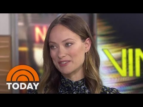 Olivia Wilde Talks Directing, 'Vinyl,' And Singing To Her Son Otis | TODAY