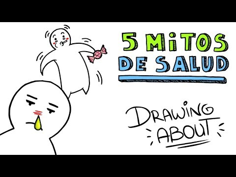 Download Youtube: 5 MITOS DE SALUD | Drawing About con GlóbuloAzul