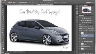 Speed Art Car Modification Adobe Photoshop CS6