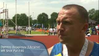 6 World Records smashed on Day 5 of 2012 IPC Athletics European Championships
