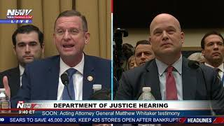 PART 1: Department of Justice Hearing On Russia and Mueller Investigation