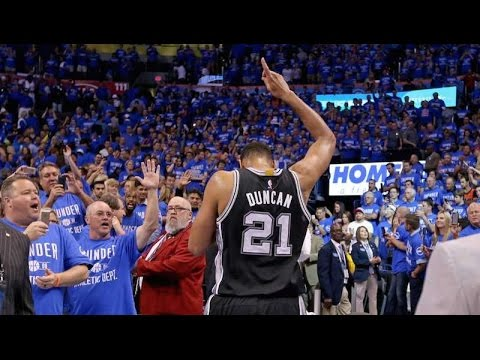 Thank You Tim Duncan | Career Highlights Tribute