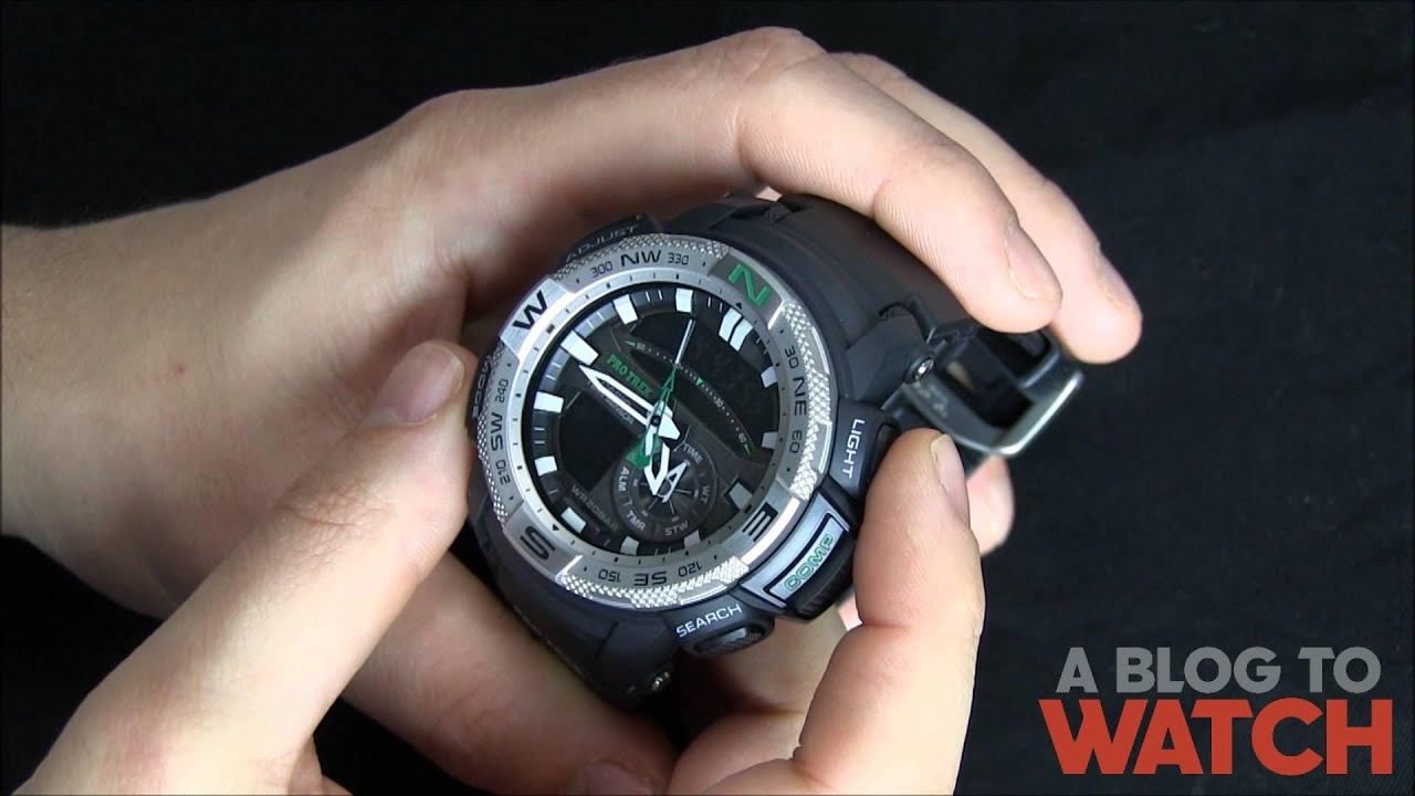 54b2ad5f5 Casio Pro Trek PRG-280 Watch Review | aBlogtoWatch - YouTube