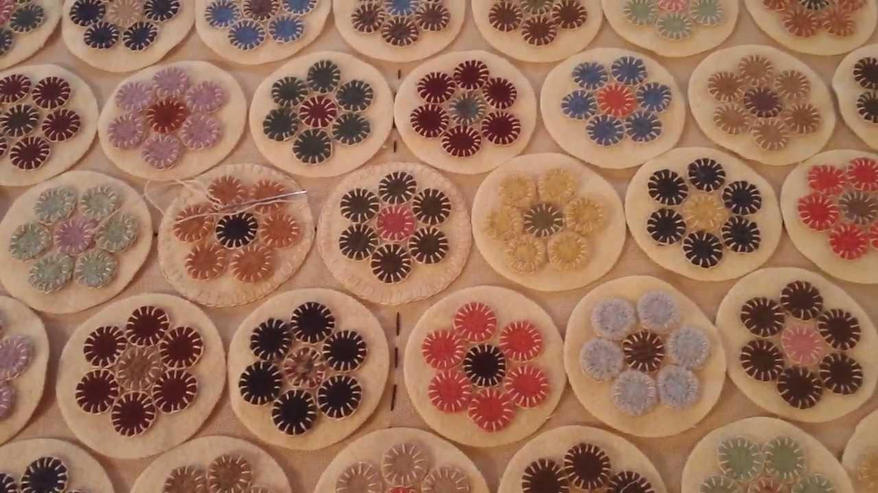 penny rug tutorial part 4