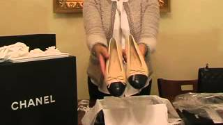 Unboxing Chanel Ballerina Flats 2014 Thumbnail