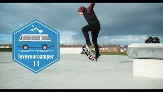 Ballyogan Skatepark | OscarTheBus In Ireland | Loveyourcamper