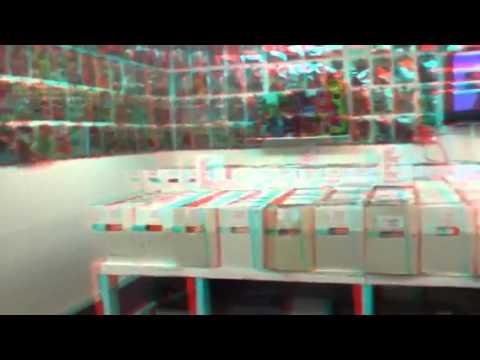 3D comic book store