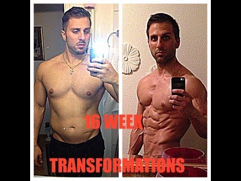 Body Transformation 16 WEEKS (Marco Strub)