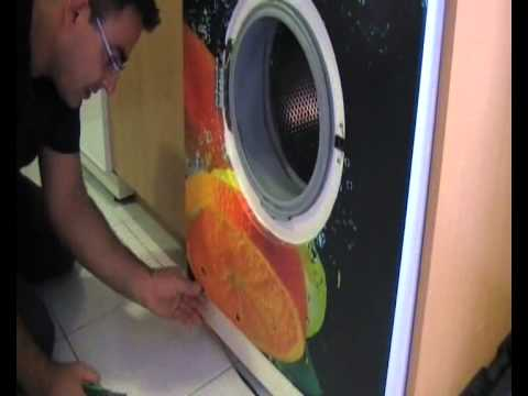 Montaje de vinilo en lavadora y lavavajillas youtube for Mueble para lavadora y lavavajillas