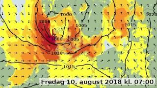Ekstra Bladet - DMI Stormen Johanne rammer Danmark fredag (video)