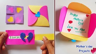4 Mini projects for Mother's Day || Easy & Simple paper crafts