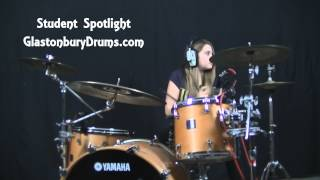 The Killers -  When We Were Young -  Drum Cover - Bettie Student Spotlight