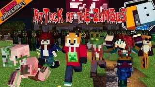 ATTACK OF THE ZOMBIES | Truly Bedrock Season 1 [62] | Minecraft Bedrock Edition SMP