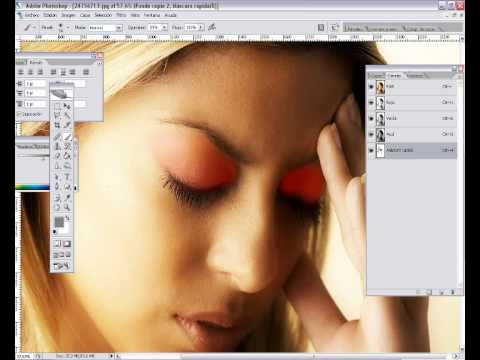 Tutorial Photoshop Retoque Modelo Profesional Maquillaje