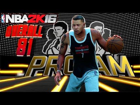 NBA 2K16 Pro Am - 1st FULL 4 Quarters of 5v5 Gameplay