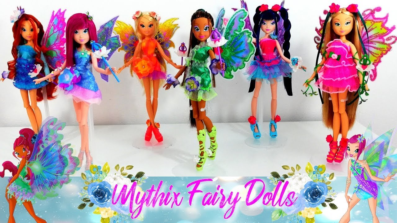 Winx Club Review Mythix Fairy Custom Dolls Youtube