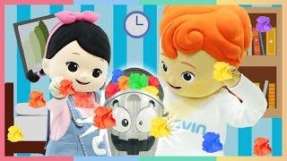 凱利凱文和受不了的垃圾桶對決玩具遊戲 | 凱利和玩具朋友們 | 凱利和玩具朋友們  | 凱利TV