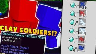 CLAY SOLDIERS MINECRAFT MODDED BATTLEDOME - MINECRAFT MOD CHALLENGE