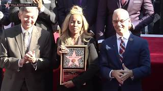 SINGER MARY J. BLIGE HONORED WITH HOLLYWOOD WALK OF FAME STAR