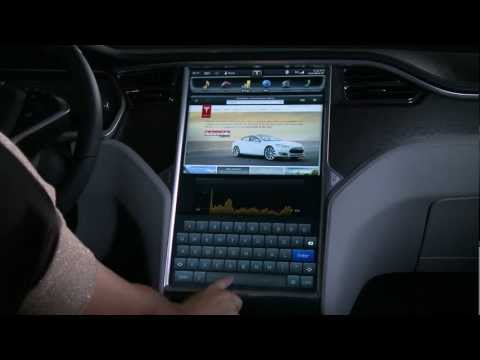 "The Model S 17"" Touchscreen Display"