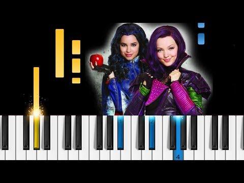 Descendants 2 - Space Between - Piano Tutorial - Disney's Descendants 2 soundtrack