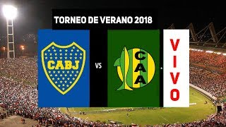 BOCA vs ALDOSIVI | IMAGEN  EN VIVO| Torneo de Verano 2018