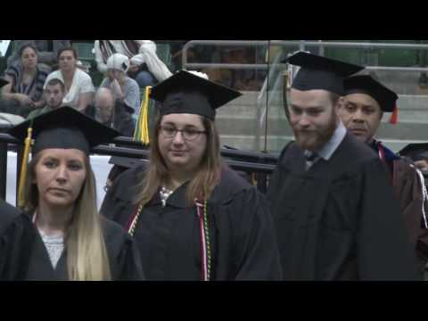 December 2016 Commencement at SUNY Oswego