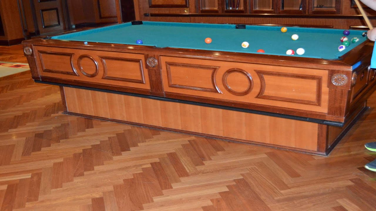 Self Leveling Tables : Gyro self leveling pool table royal caribbean jewel of the