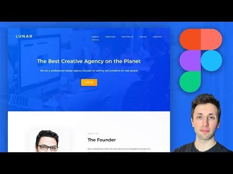 Figma Tutorial Design Agency UX Webdesign (PART 1/2):  Figma Tutorial & Design Process Workflow