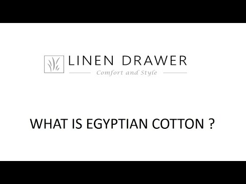 Linen Drawer - What is Egyptian Cotton