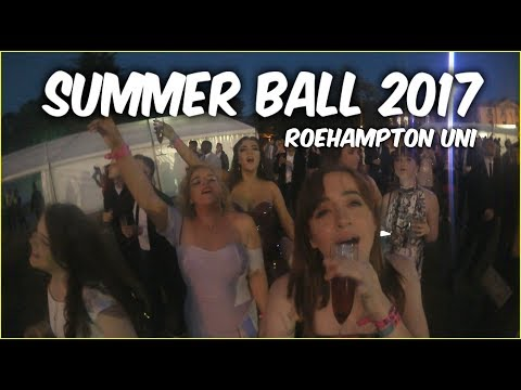 SUMMER BALL 2017 ROEHAMPTON UNI | Grace Ward