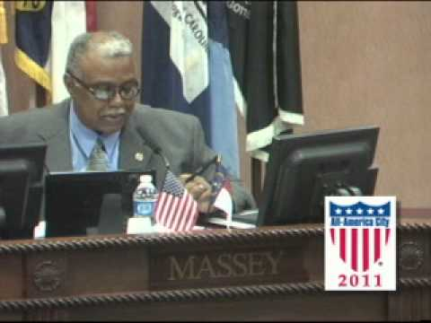 October 10th, 2011 City Council Meeting - Fayetteville, North Carolina