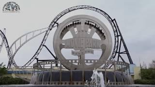 Movie Park Germany - Parkvideo April 2017